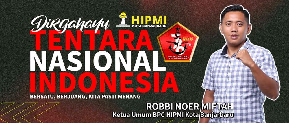Dirgahayu TNI - HIPMI